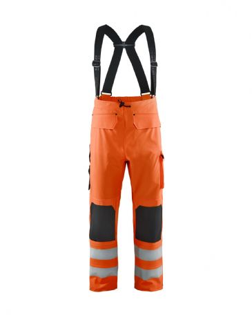 Blaklader 1302 Waterproof Rain Trousers (Orange)